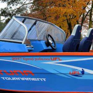 TUNA 500 TT з лафетом – Головний приз сезону 2018 !
